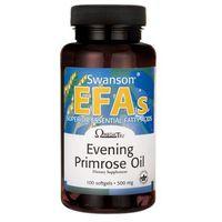 Kapsułki Swanson Evening Primrose Oil (Olej z nasion wiesiołka) 500mg 100 kaps.