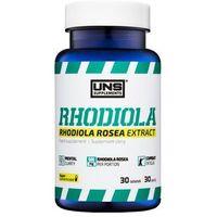 Tabletki Suplement prozdrowotny UNS RHODIOLA (RÓŻENIEC GÓRSKI) 30 tabl. Najlepszy produkt