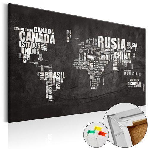 Obraz na korku - hiszpańska geografia (es) [mapa korkowa] Artgeist