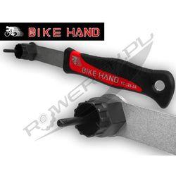 Bike hand Yc-126-2a klucz do kaset i tarcz hamulcowych yc-126-2a z rączką