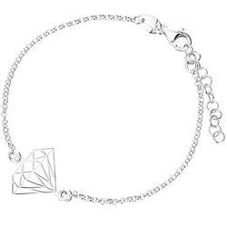 Biżuteria srebrna INFINITY - Bransoletka damska NPBK0021, kolor szary