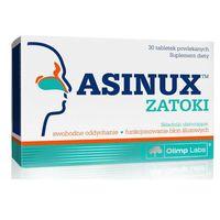 Tabletki ASINUX Zatoki x 30 tabletek