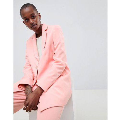 c4272b9149113 Tailored forever boyfriend blazer co ord - Pink (ASOS DESIGN) opinie ...