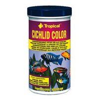 Tropical cichlid color - pokarm wybarwiający dla pielęgnic 250ml/50g (5900469703847)