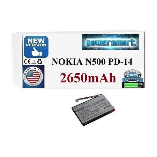 Powersmart Bateria 20-01673-01b nokia n500 type pd-14 pd14