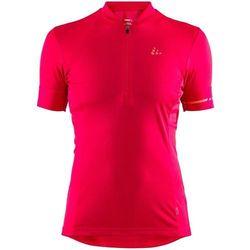 Craft point koszulka rowerowa z zamkiem błyskawicznym kobiety, jam/boost xl 2019 koszulki kolarskie
