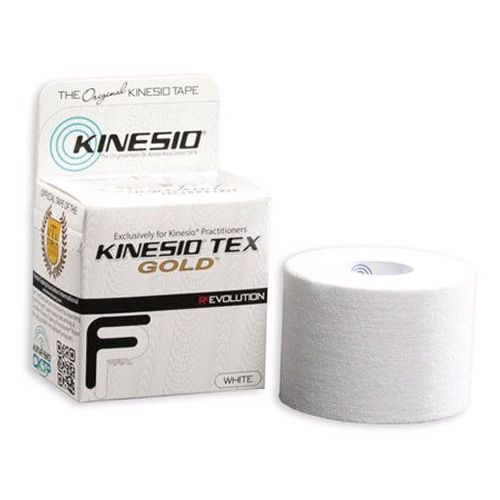 Kinesio Tex Gold FP taśma do tapingu 5cm x 5m - biała