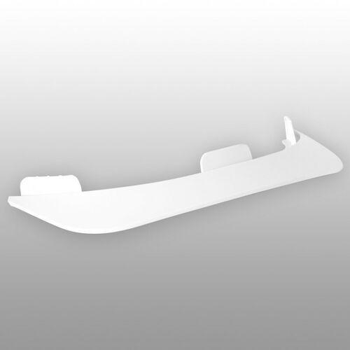 daszek TSG - Evolution Visor Abs White 160 (160) rozmiar: OS