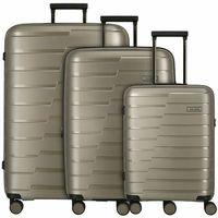 Travelite Air Base Walizka na 4 kołach set 3cz. champagner ZAPISZ SIĘ DO NASZEGO NEWSLETTERA, A OTRZYMASZ VOUCHER Z 15% ZNIŻKĄ