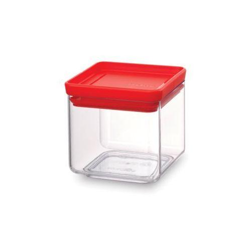 1c5bf930f8068e Brabantia - Pojemnik kuchenny Square 0,7 l - pokrywa czerwona - czerwony,  kolor