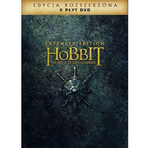 Hobbit: Bitwa Pięciu Armii. Wydanie rozszerzone (5DVD)