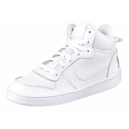 Nike Sportswear COURT BOROUGH Tenisówki i Trampki wysokie weiß/hellgrau, 839977