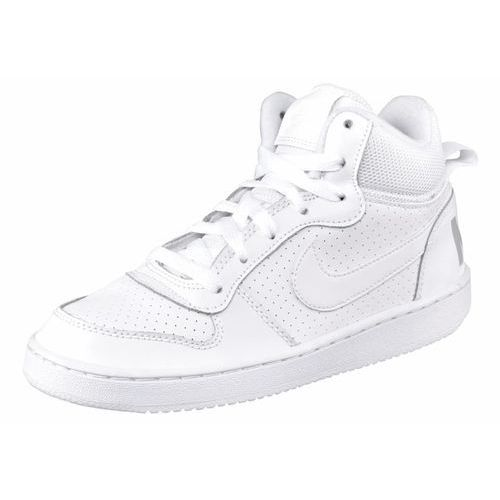 Nike sportswear court borough tenisówki i trampki wysokie weiß/hellgrau (0091202299125)