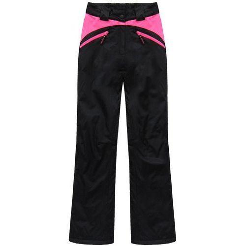 Speed.a Spodnie narciarskie czarno-różowe (qs189)