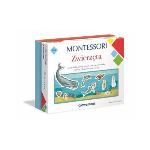Clementoni Gra montessori zwierzeta + prezent do zakupów za min.30 zł. (8005125506460)