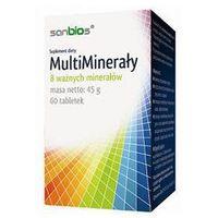 Tabletki Multi Minerały 60 tabletek - Sanbios