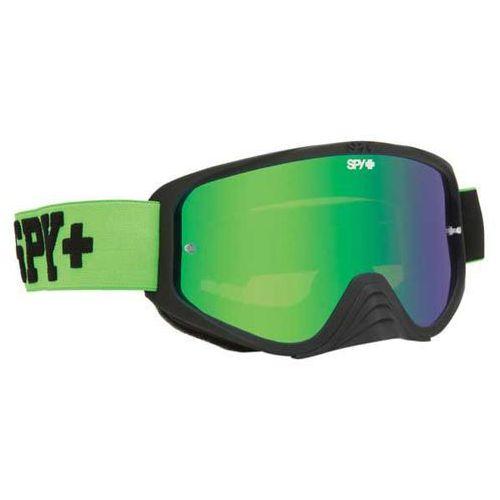 Spy Gogle narciarskie woot mx jersey green - smoke w/ green spectra (+clear anti fog w/ po