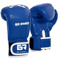 Rękawice bokserskie dla dzieci - niebieskie - 4 oz