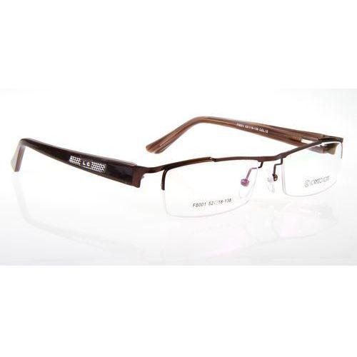 Oprawki okularowe Lorenzo F8001 c12 brąz