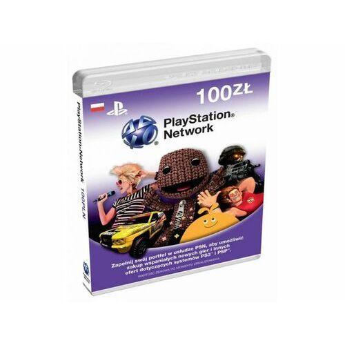 Sony PlayStation Live Cards 100 PLN