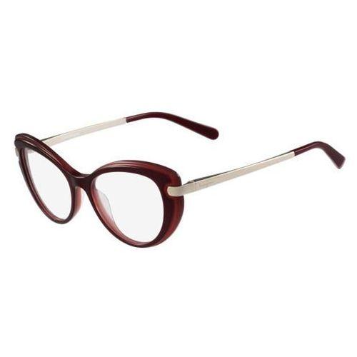 Salvatore ferragamo Okulary korekcyjne sf 2755 614