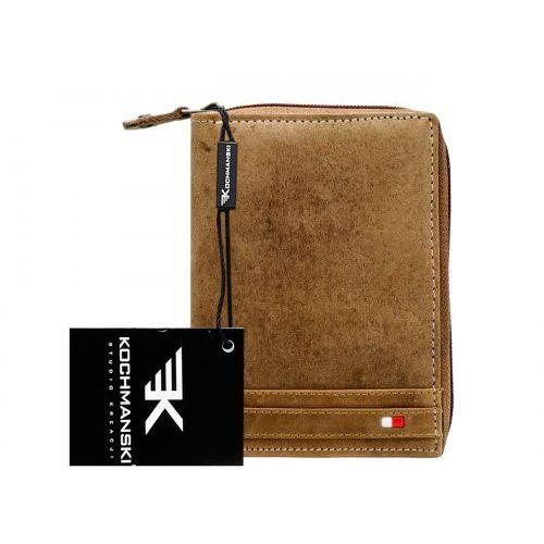 0441c735b1859 Kochmanski studio kreacji® Skórzany portfel męski na zamek kochmanski 1098  - zdjęcie Kochmanski studio kreacji