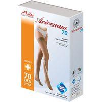 avicenum 70 - pończochy profilaktyczne z koronką samonośną marki Aries