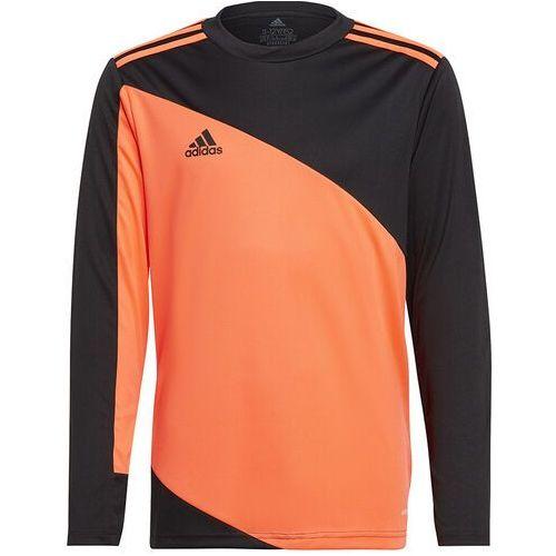 Adidas Bluza bramkarska dla dzieci squadra 21 goalkeeper jersey youth pomarańczowo-czarna gk9806