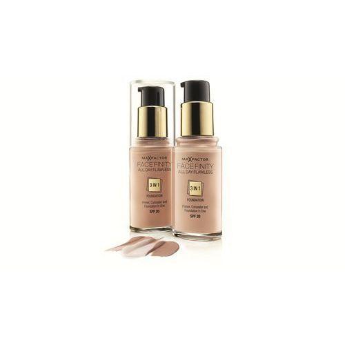 Max factor facefinity make up 3 w 1 odcień 60 sand spf20 (all day flawless) 30 ml - Świetny upust