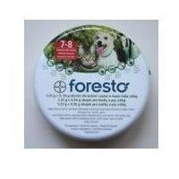 Foresto - dł 38 cm - obroża przeciwko pchłom i kleszczom dla kotów i psów o masie ciała do 8 kg marki Bayer