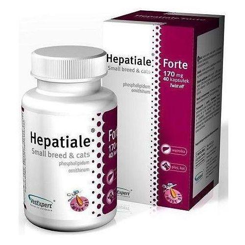Vetexpert preparat na wątrobę hepatiale forte small breed&cats op. 40 kapsułek