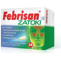 Febrisan Zatoki x 24 tabletki
