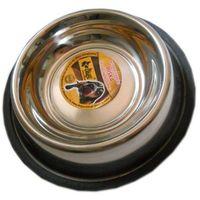 Dingo miska metalowa pojedyńcza z gumową podkładką - różne wymiary