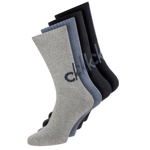 Calvin Klein Underwear 4 PACK Skarpety denim heather/stonewash heather/blue oxford, kolor czarny