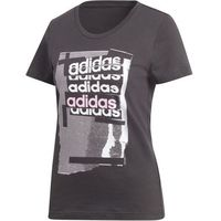 Adidas koszulka damska Linear Tee I /Black S