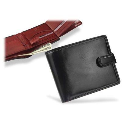 51f9402265b22 portfel męski skórzany torino tr35 czarny + czerwony - czarny + czerwony  marki Visconti ModnyPortfel.pl
