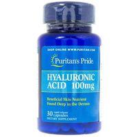 Puritan's Pride Kwas Hialuronowy 100 mg - 30 kapsułek