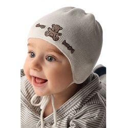 Marika Czapka niemowlęca wiązana 5x34b0
