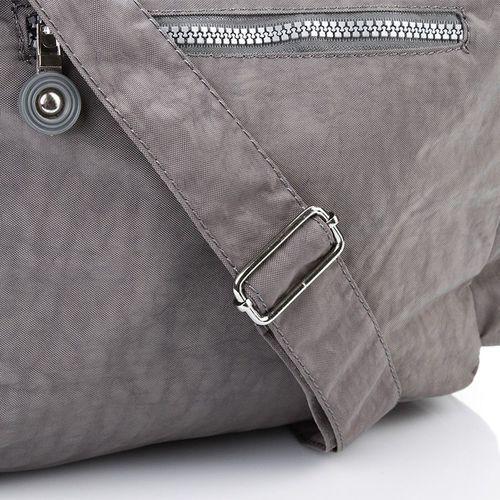 46cc5515e5d6a Sportowa listonoszka torebka damska na ramię beżowa - beżowy marki Bag  street - 5