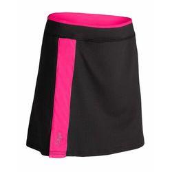 Etape spódniczka rowerowa damska laura czarna/różowa m