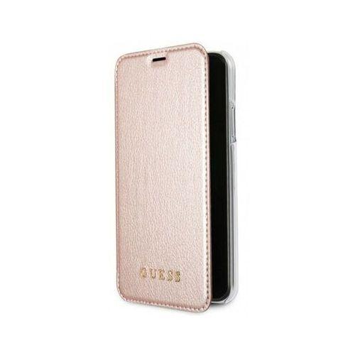 guflbkpxigltrg iphone x (różowo-złoty) marki Guess
