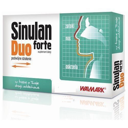 Sinulan DUO FORTE tabletki na zatoki odporność 60tabletek