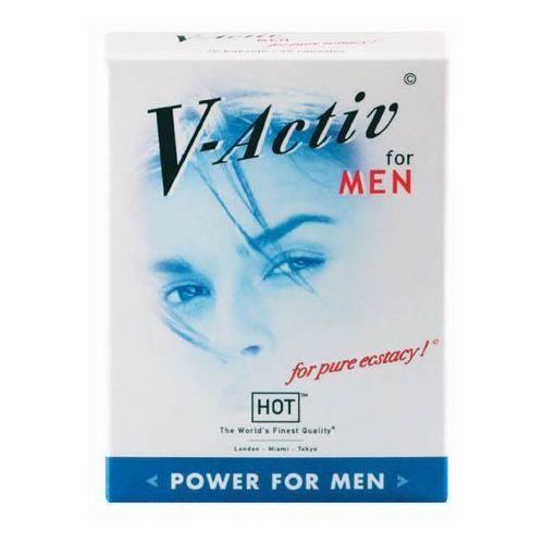 Hot V-activ for men pure power 20 kaps. więcej energii seksualnej 44530