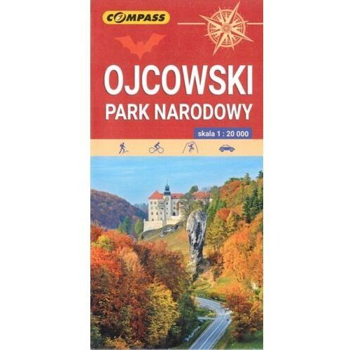 Ojcowski Park Narodowy. Mapa turystyczna 1:20 000 - książka, Compass