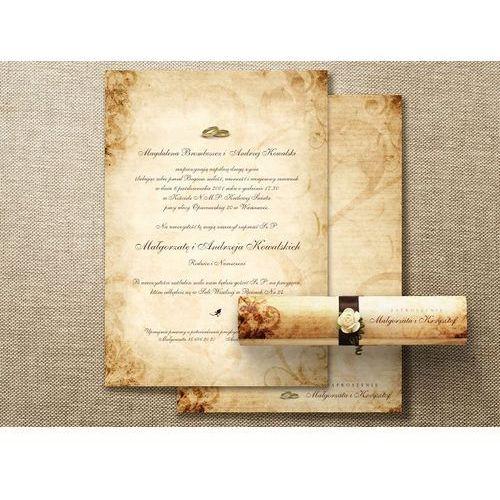 Zaproszenia ślubne z nadrukiem - RULON 1