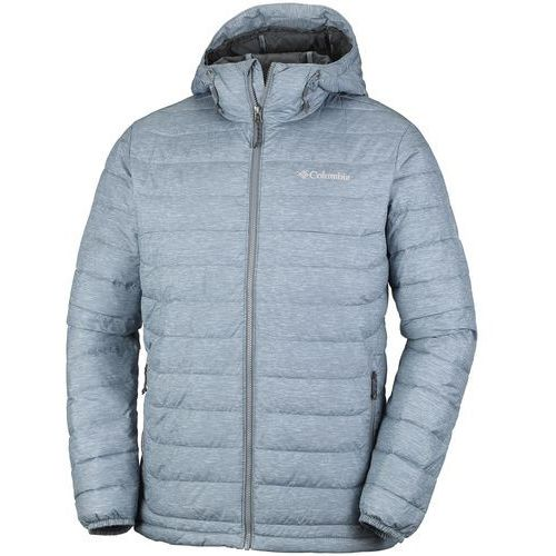 cad0530b3141a Columbia kurtka zimowa powder lite hooded jacket grey ash print s