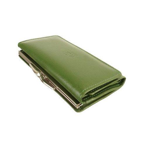 0d218ccd216d9 Perfekt plus p/45 a bigiel/zatrzask zielony, portfel damski - zielony