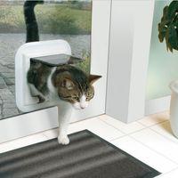 drzwiczki dla kota deluxe do szklanych drzwi marki Trixie