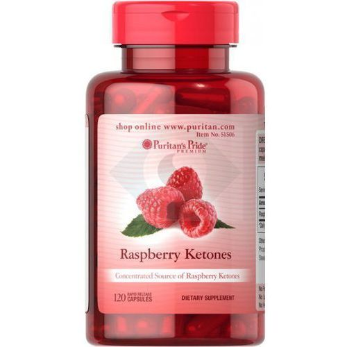 Kapsułki RASPBERRY KETONES 100 mg - 120 KAPSUŁEK- NATURALNY SPOSÓB NA UTRATĘ WAGI
