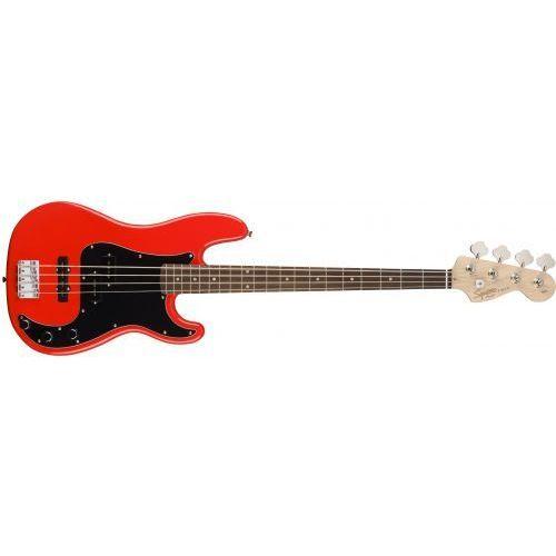 affinity series precision bass laurel fingerboard race red gitara basowa marki Fender